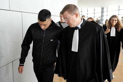 Monsif Ghabbour à sa sortie du tribunal, en août dernier.