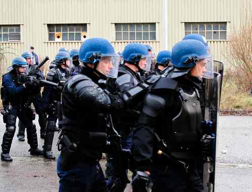 Contre les meutes police et gendarmerie font brigade commune grenoble r sonances for Police grenoble