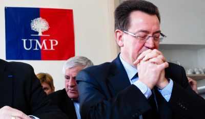 Le député UMP lyonnais Philippe Cochet, président par intérim de la fédération iséroise, ici lors de la présentation des candidats aux cantonales, le 21 février dernier.