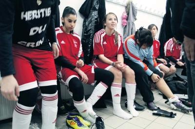 Les joueuses de l'AS Bajatière se préparent à affronter l'équipe de Seyssinet, samedi 17 décembre.