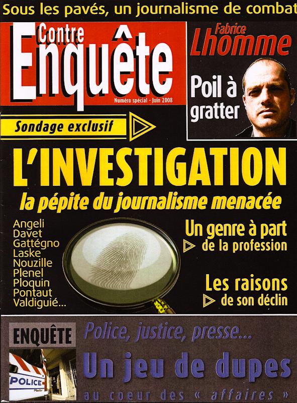 Contre-enquête / Le journalisme d'investigation décrypté.