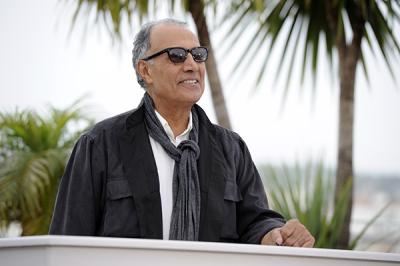 Le réalisateur iranien Abbas Kiarostami, lors du Festival de Cannes 2014 (AFP).