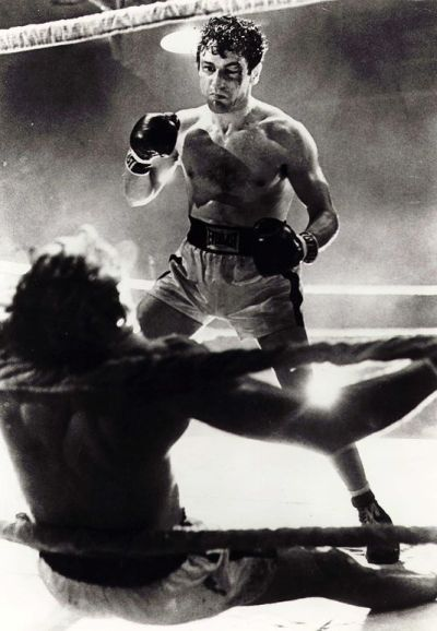 Photo du film Raging Bull en 1980 (United Artists).