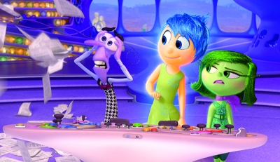 Photo du film Inside Out, de Pete Docter (DR).