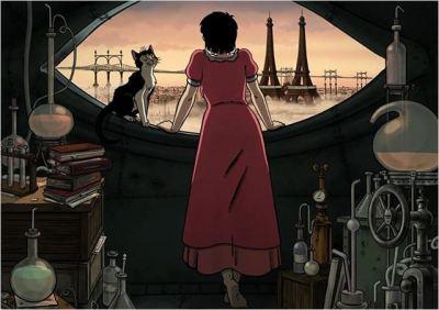 Photo du film Avril et le monde truqué, de Franck Ekinci et Christian Desmares  (DR).