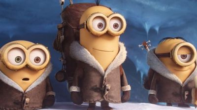 Photo du film Les Minions, de Pierre Coffin et Kyle Balda (DR).