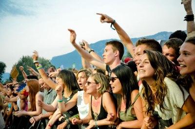 Lors du 12e festival Musilac, en juillet 2013 (BP).