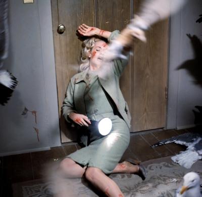 Extrait des Oiseaux, d'Alfred Hitchcock (DR).