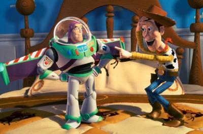 Extrait de Toy Story, de John Lasseter (DR).