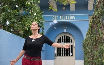 Photo du film Aquarius (DR).